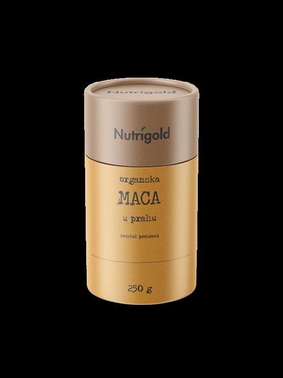 Nutrigold maca prah organski u smeđoj ambalaži 250g