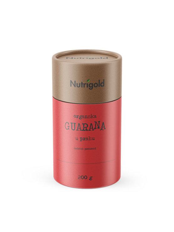 Nutrigold organski guarana prah u tubastoj ambalaži od 200g