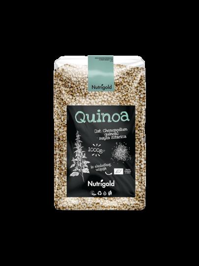 quinoa royal u plastičnoj prozirnoj ambalaži od 1000g sa naljepnicom