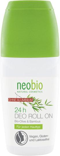 24-satni dezodorans s organskim maslinama i bambusom štiti i njeguje vrlo blago i potpuno bez soli aluminija.