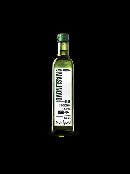Nutrigoldovo ekstra djevičansko maslinovo ulje u staklenoj ambalaži 500 ml