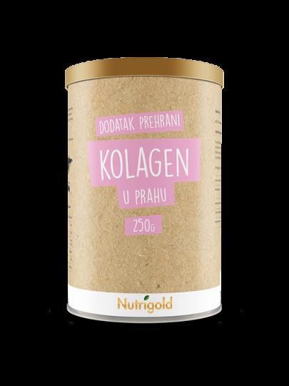 Hidrolizirani kolagen u prahu u smeđoj posudi od 250 grama