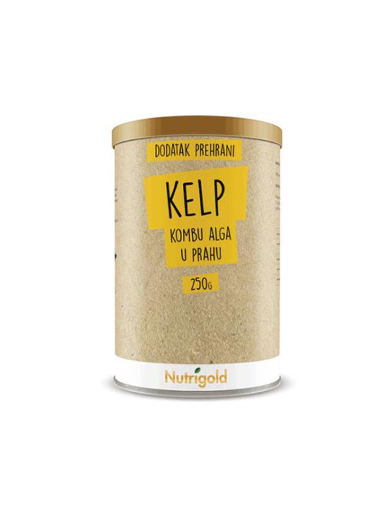 Nutrigold Kelp (Kombu) alga u prahu u smeđoj ambalaži 250g