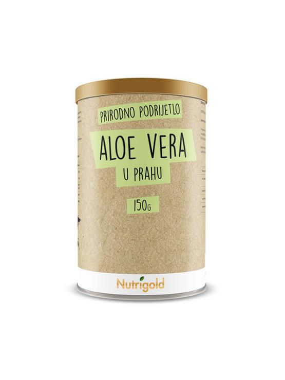 Aloe vera prah prirodnog podrijetla u smeđoj ambalaži od 150 grama
