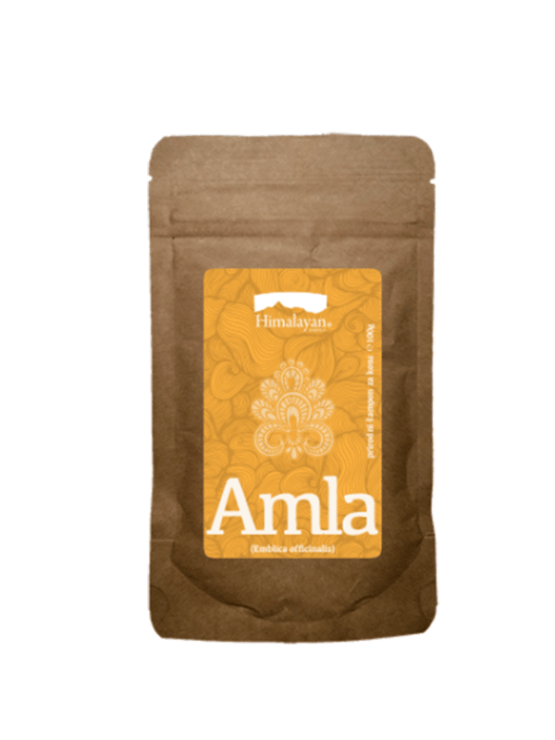 Amla natural mask and hair dye in a firm paper packaging of 100g