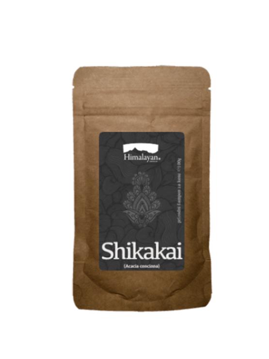 Shikakai natural hair shampoo in a firm paper packaging of 100g