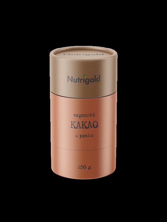 Nutrigold Kakao prah - Organski u smeđoj ambalaži 250 g