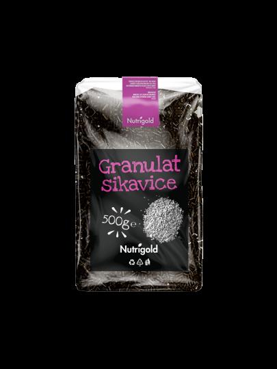 Granulat sikavice Nutrigold u pakiranju od 500 grama