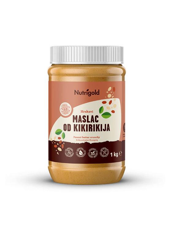 Maslac od kikirikija je 100% čisti i prirodni maslac od kikirikija napravljen samo od kikirikija.