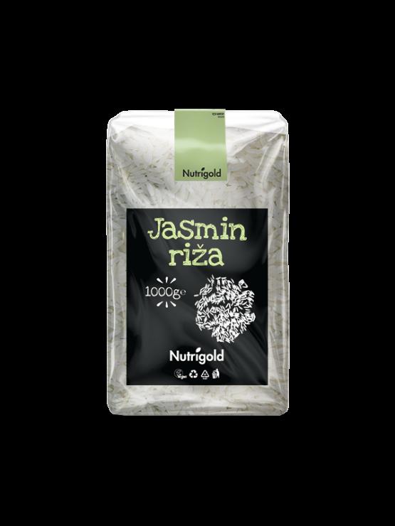 Nutrigold Jasmin riža u prozirnoj plastičnoj ambalaži 1000g