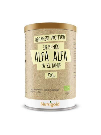AlfaAlfa/Lucerna sjemenka za klijanje u posudi od 250 grama