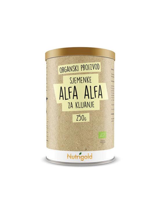 Nutrigold organske sjemenke alfa alfa za klijanje u ambalaži od 250 grama