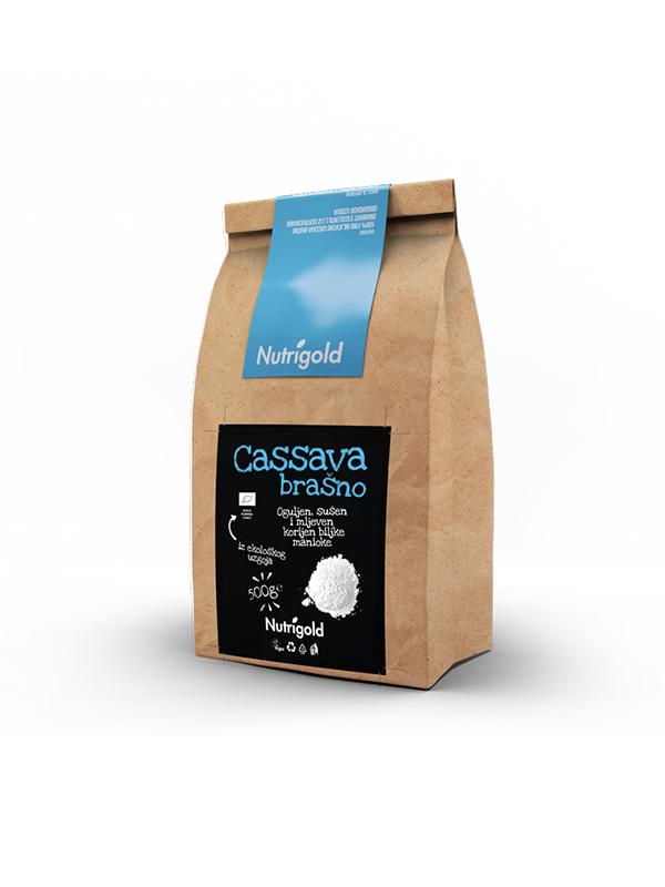 Cassava flour - Organic 500g Nutrigold