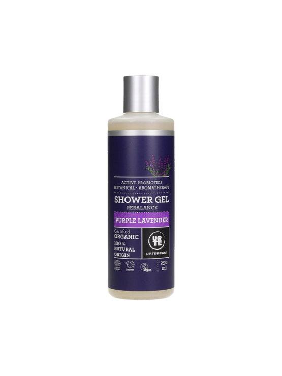 Urtekram lavender shower gel in a 250ml bottle