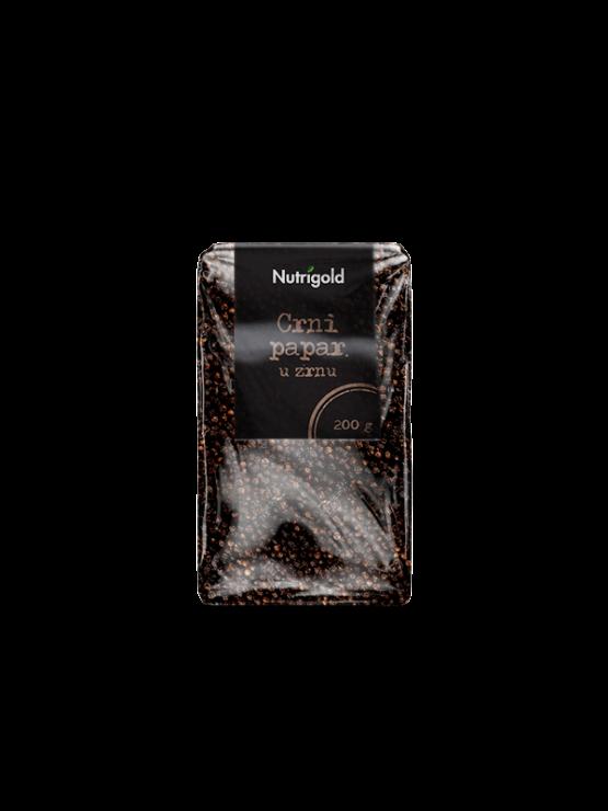 Nutrigold crni papar u zrnu u prozirnoj ambalaži  200g