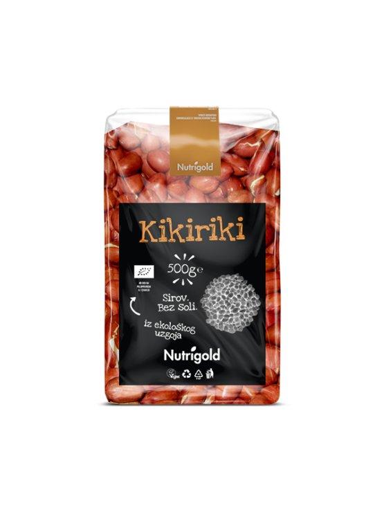 Nutrigold Kikiriki oljušteni Sirovi - Organski u prozirnoj plastičnoj ambalaži 500 g