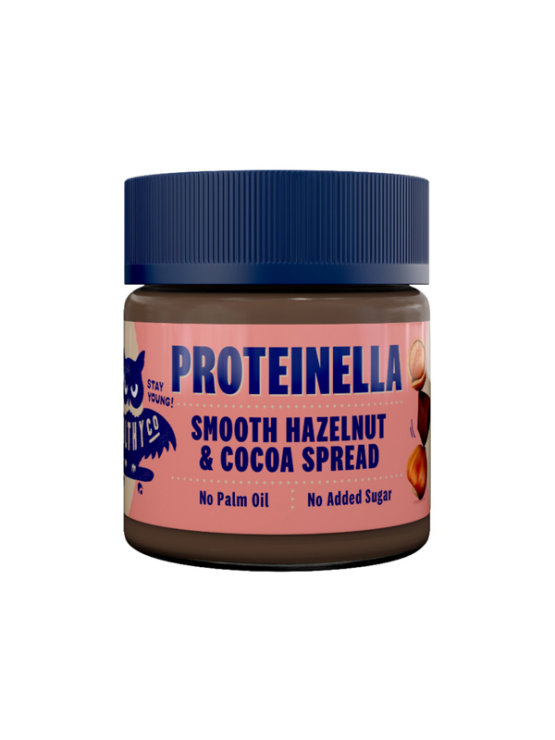 HealthyCo Proteinella dark chocolate spread in plastic packaging of 200 grams