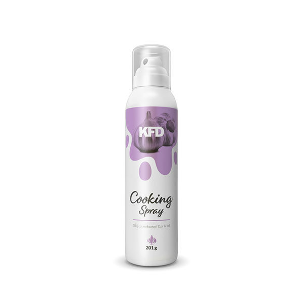 KFD garlic oil cooking spray in a spray can 201g