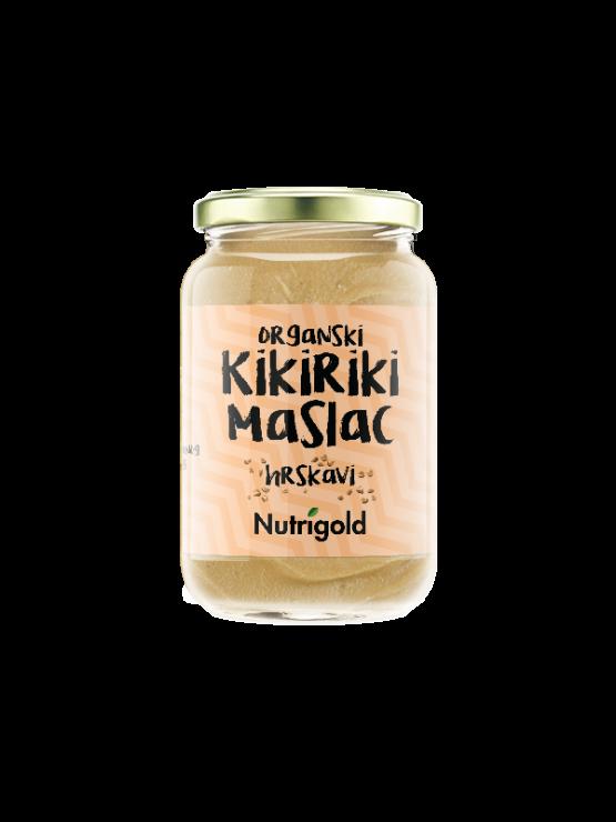 Kikiriki maslac je 100% čisti i prirodni maslac od kikirikija napravljen samo od kikirikija
