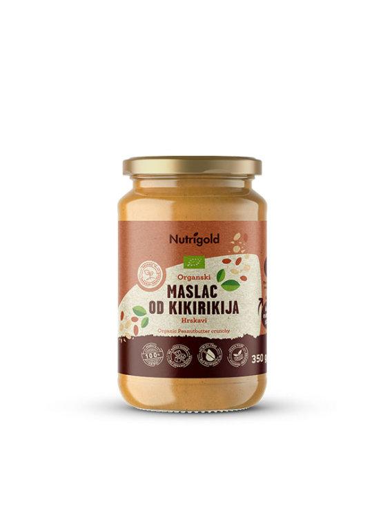Nutrigold Kikiriki maslac/Hrskavi - Organski u prozirnoj staklenoj ambalaži 350 g