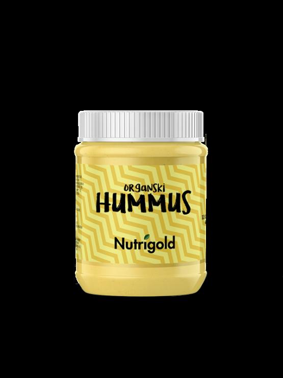 Nutrigold hummus u prozirnoj staklenoj ambalaži  260g