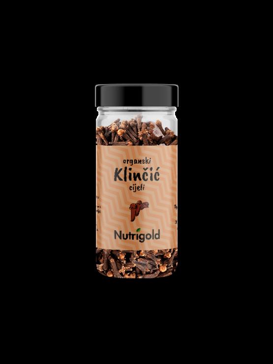 Nutrigold Klinčić cijeli - Organski u staklenoj ambalaži 30g