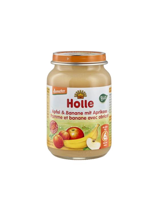 Holle organska kašica od jabuke, banane i marelice u staklenci od 190g