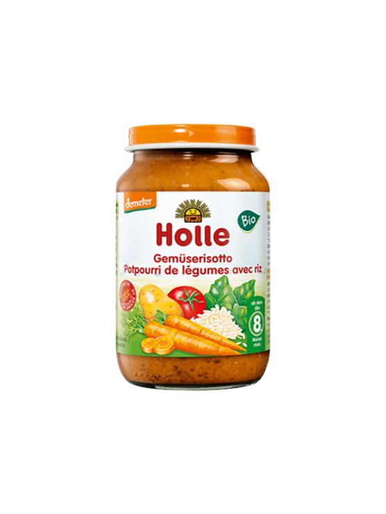 Holle organska kašica od miješanog povrća s rižom u staklenci od 220g
