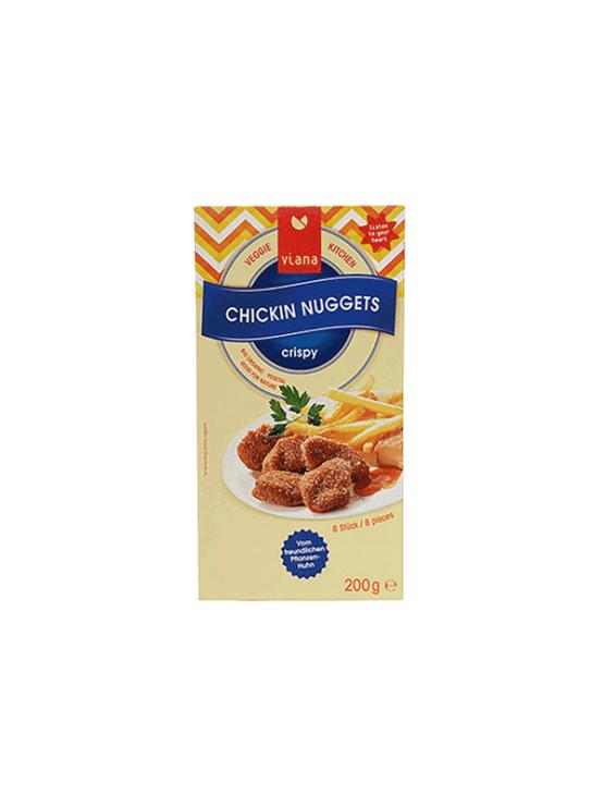 Viana veggie ''nuggets'' in a cardboard packaging of 200g