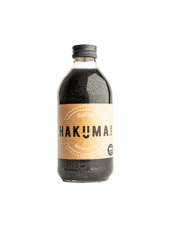 Hakuma spice black tea juice in a glass bottle of 330ml