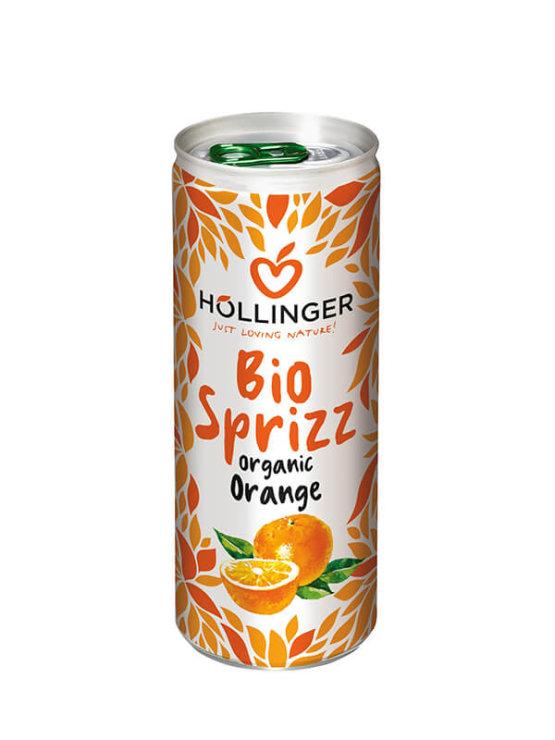 Organski gazirani sok od naranče u limenci od 250ml Hollinger