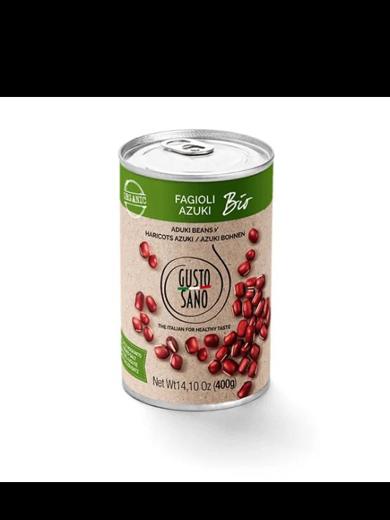 Gusto sano organski azuki grah u limenci 400g