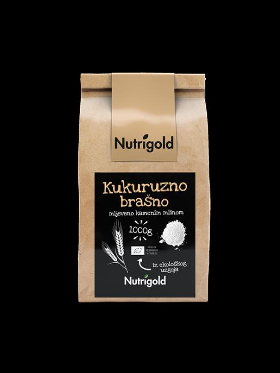 Nutrigold Kukuruzno brašno - Organsko u smeđoj ambalaži 1000g