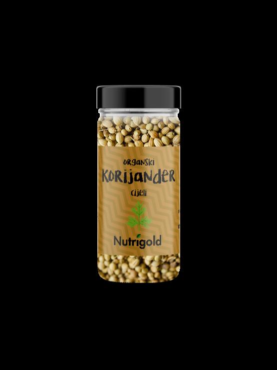 Nutrigold Korijander Cijeli - Organski u staklenoj ambalaži 30g