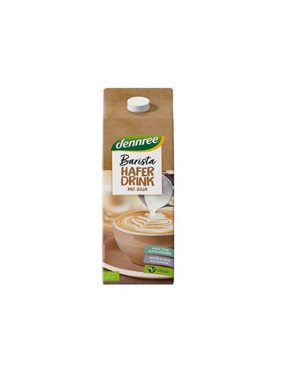 Dennree organic barista oat drink in cardboard packaging of 1000ml