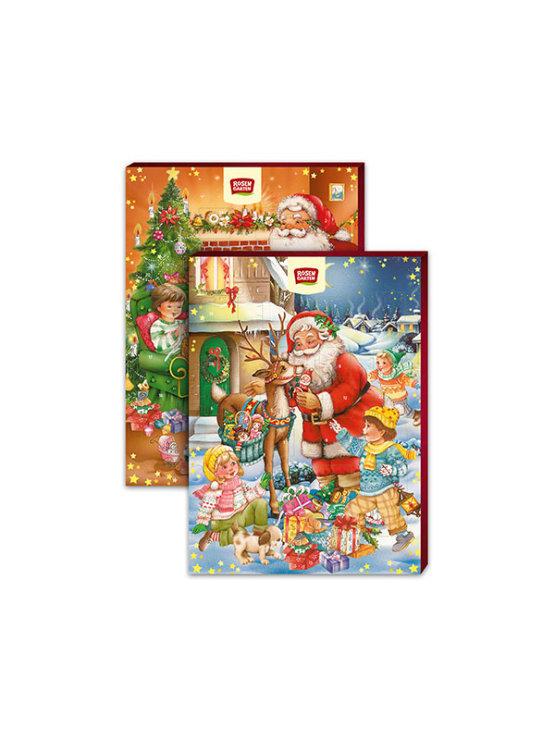 Rosengarten organski adventski kalendar sa 24 čokoladice u božićnom pakiranju  od 75 grama