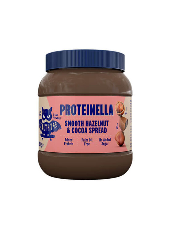 XXL Proteinella chocolate spread in plastic packaging of 750 grams HealthyCo