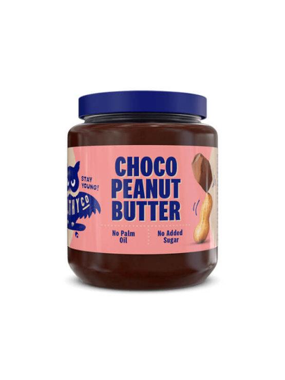 Čokoladni kikiriki maslac HealthyCo u plastičnoj ambalaži od 320 grama