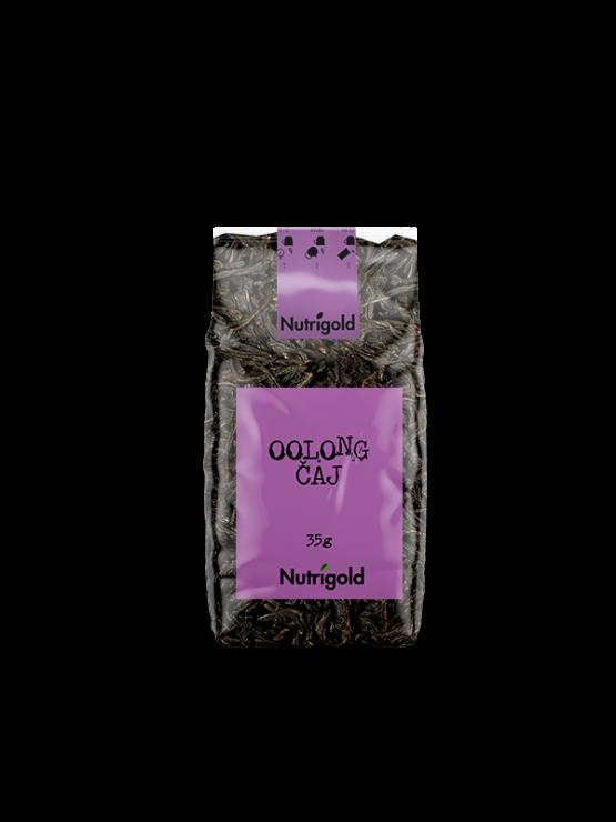 Nutrigold Oolong tea in transparent bag of 35 grams