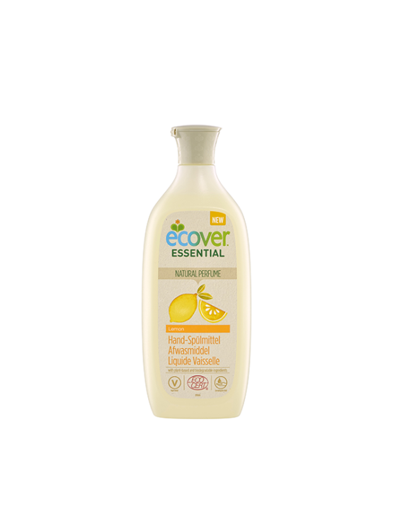 Ecover dishwashing liquid soap lemon in recyclable packaging of 500ml