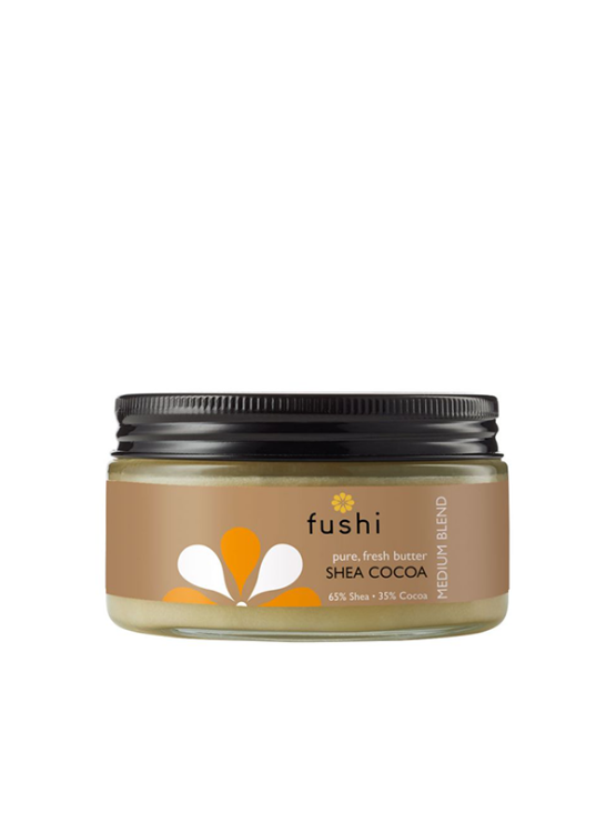 Fushi shea butter - Shea and Cocoa butter in a jar of 200g
