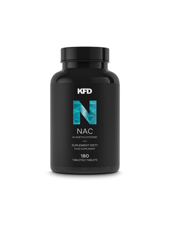 NAC 180 tableta u crnoj plastičnoj ambalaži KFD