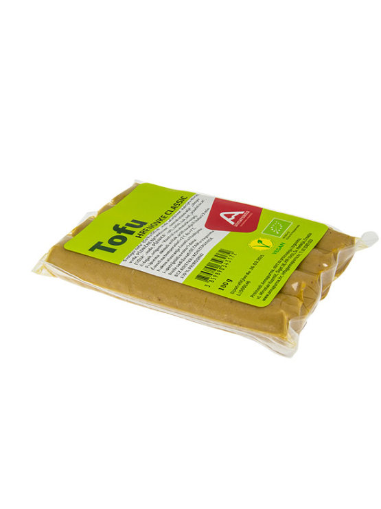Annapurna organic tofu frankfurters in vacuum sealed packaging of 180g