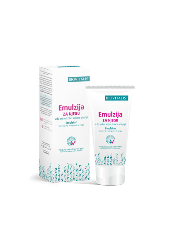 Biovitalis emulsion for very dry skin prone to atopy in plastic packaging of 150ml