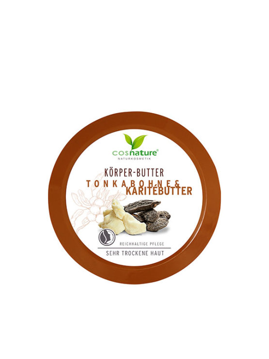 Cosnature body butter with tonka bean and shea butter 200ml