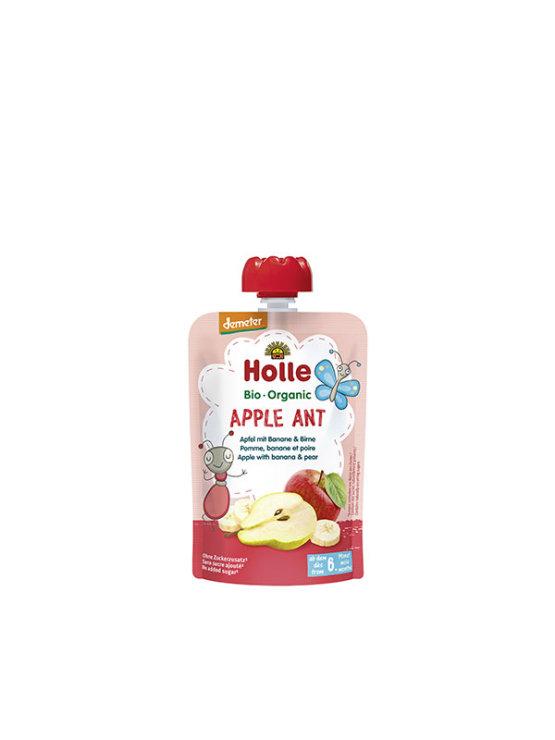 Organski Holle pire od banane, jabuke i kruške u vrećici s dozatorom od 100g