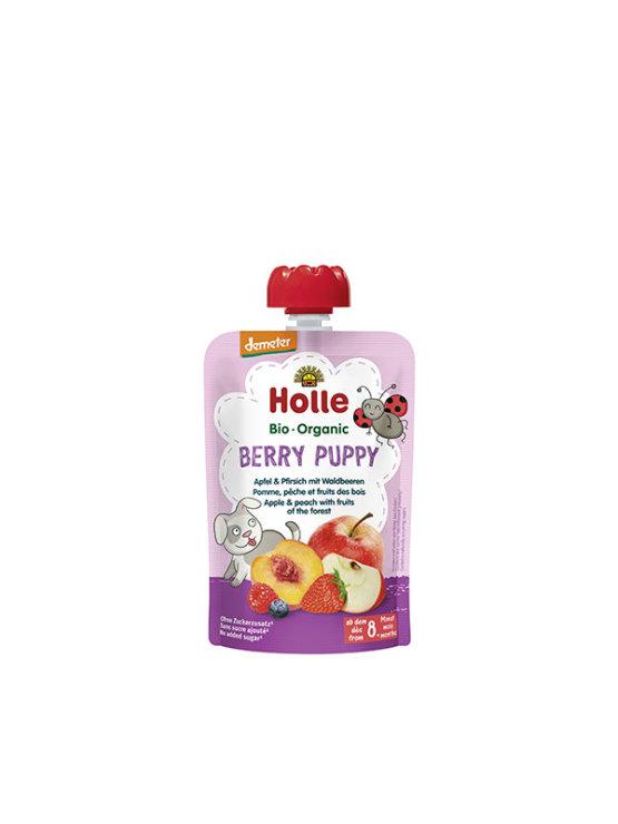 Organski Holle pire od breskve, jabuke i šumskog voća u vrećici s dozatorom od 100g