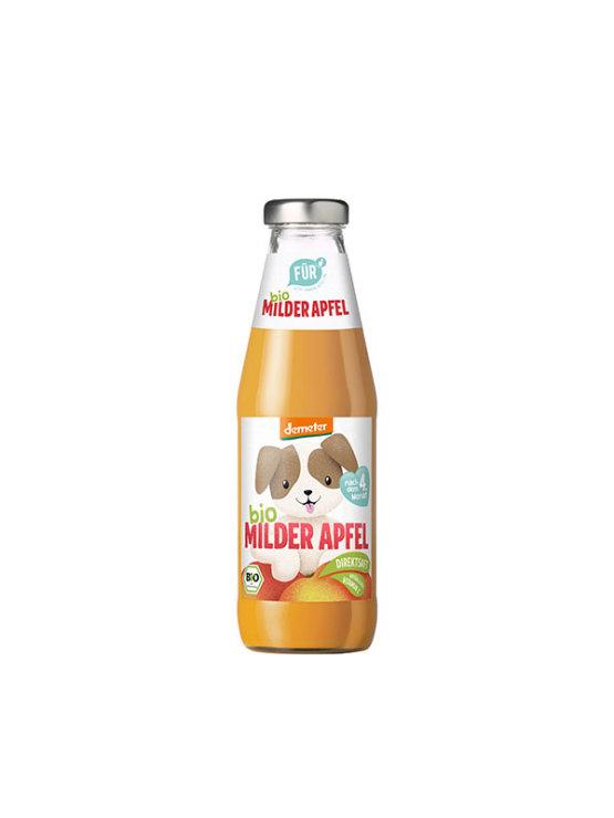 Fur organski sok od jabuke s dodatkom vitamina c u staklenoj ambalaži od 500 ml