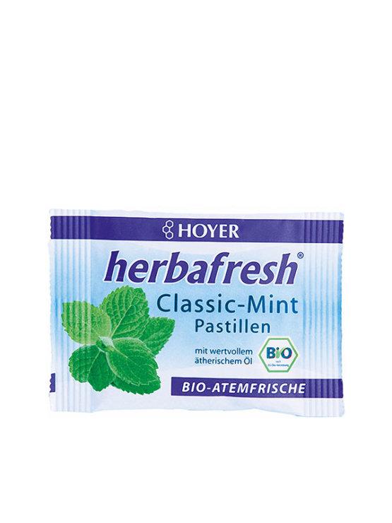 Hoyer organske pastile za svjež dah od mente u vrećici od 17g