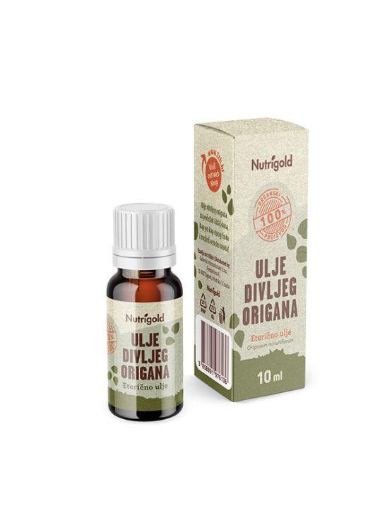 Nutrigold organsko ulje od divljeg origana u tamnoj staklenoj ambalaži od 10 ml